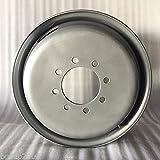 New 17.5''X 6.75 8x6.5 bolt pattern Steel Trailer Dual Wheel Rim 8 Lug
