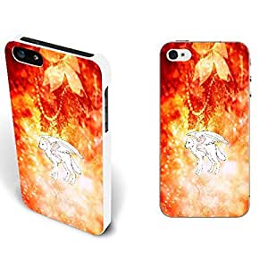 Hipster Howling Wolves Series Pattern - Iphone 5 5s Hard Case Cover Skins (white0011 q1132) With High Grade Design L-NE CASE