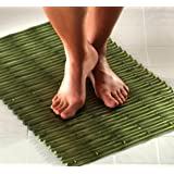 Bamboo Bath Mat - Green