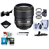 Nikon AF-S NIKKOR  35 mm  f/ 1.4 Lens for  Nikon F-Bayonet Bundle with 67mm Filters, Software and Accessory Bundle