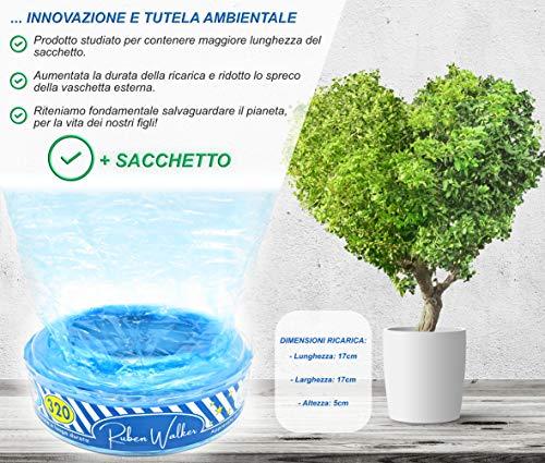 Ricarica Maialino Foppapedretti compatibili sistema smaltimento pannolini Angel care (6-pezzi 1920 pannolini) sacchetto… 3