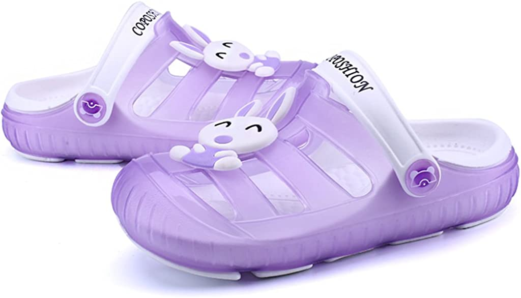 Gaatpot Sabot Zoccoli Scarpe Sandali Ragazzi Ragazze Ciabatte Pantofole Scarpette Mare Unisex Bambini Viola 29