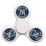 Toye-Bean Custom New-York-Yankees Fidget Spinner Hand Toys Finger Tip Tri-Spinner