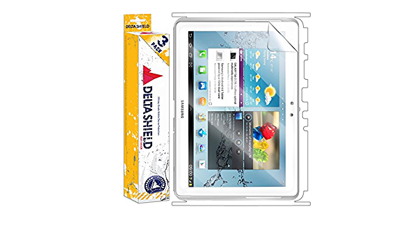 3-Pack Front and Back Protector BodyArmor Non-Bubble Military-Grade Clear HD Film DeltaShield Full Body Skin for Acer Iconia W3 8.1 inch Tablet Screen Protector Included