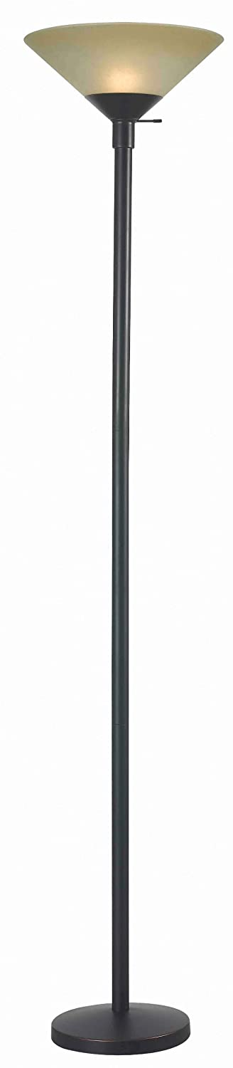Kenroy Home 32110ORB Wendell Torchiere Floor Lamp Oil Rubbed Bronze