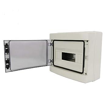Cablematic Caja de distribución eléctrica SPN 12M IP65 de superficie de plástico ABS HA: Amazon.es: Electrónica