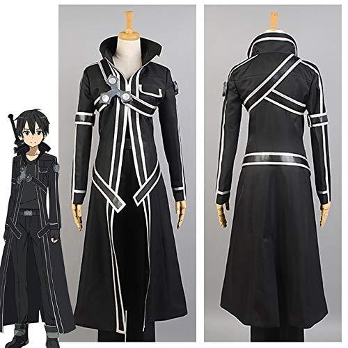 MSSJ Hot Anime Sword Art Online Kirito Disfraz de Cosplay ...