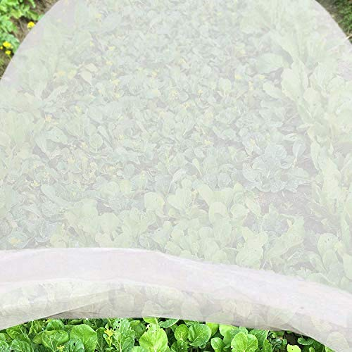 Winter Cloth Plant Cover for Frost Protection,Warm Worth Frost Blanket- Protection Shrubs Potted Plants from Being Damaged,4.9ft x 33ft