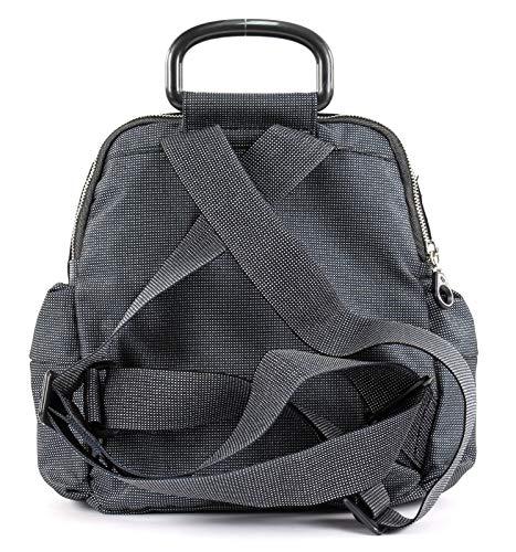 X H Lux Borsa Mandarina a per Md20 Tracolla w L donna Centimetri 24x26x14 Nero tracolla titanio Duck qwCRx6p