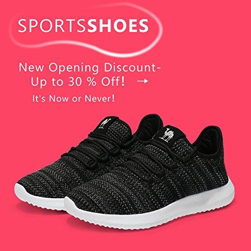 Schuhe CAMEL Frauen Bequeme Atmungsaktiv Damen Freizeit Turnschuhe Sportschuhe Unisex Laufschuhe Running Zum Sneaker Schwarz Gym Gehen Leichte qrzrIYxnX