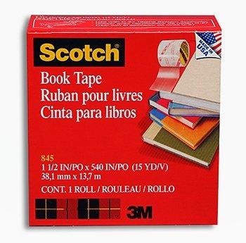7 Pack 3M COMPANY 3M SCOTCH BOOKBINDING TAPE