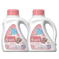 Dreft Stage 1: Newborn Hypoallergenic Liquid Baby Laundry Detergent (HE), 50 ...