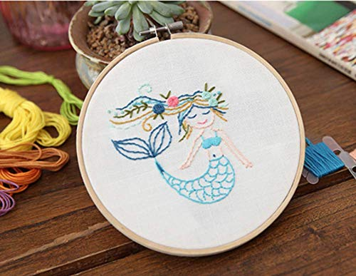 - Embroidery Kit Plant, Embroidery Kit Modern, Embroidery Kit Beginner, Embroidery Kit DIY, Embroidery Kit Floral, Gift for Crafter (B)