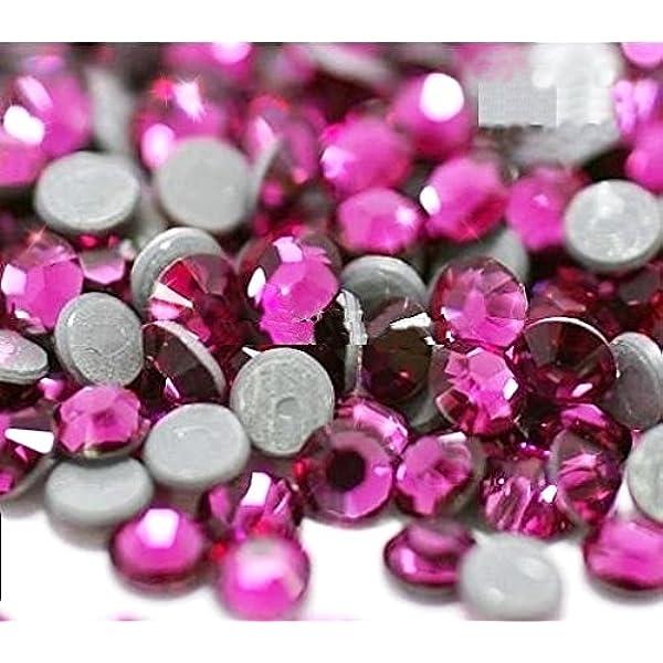 STRASS MC Stone collection 100pz SS20 5mm Fucsia fuxia hotfix termoadesivi rosa