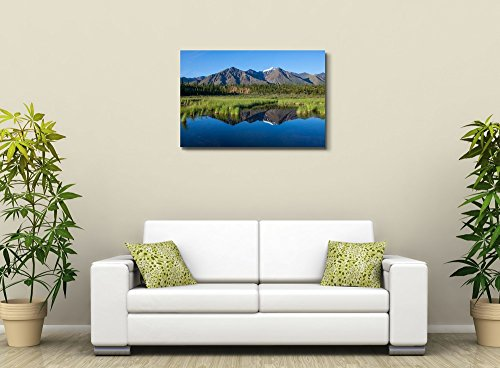 Mckinley Reflection in Lake on Alaska Home Deoration Wall Decor