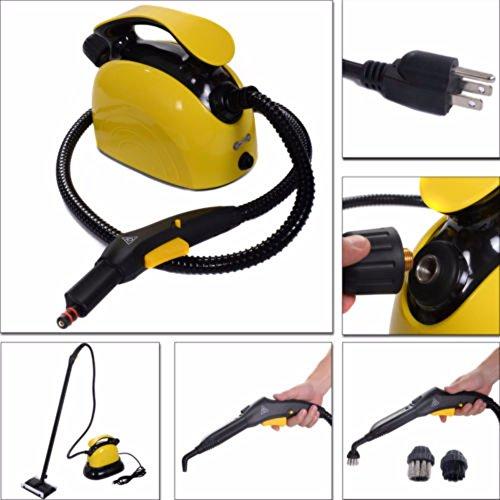 1500W Portable Professional Multi Purpose Pressure Steam Cleaner Carpet Bathroom by Unknown