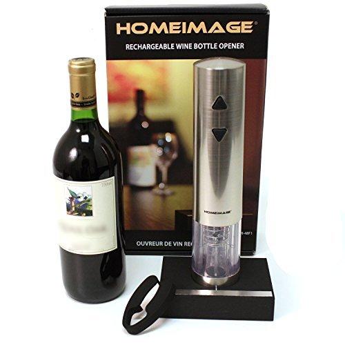 48F1 HOMEIMAGE Stainless steel Electric Wine Bottle Opener HI