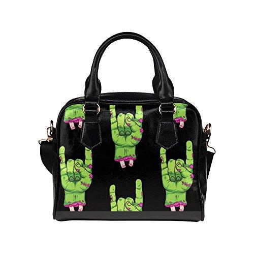 LEINTEREST Zombie Halloween Womens Top Handbag Shoulder (Halloween Purses)
