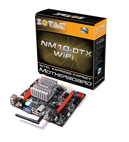ZOTAC Atom Dual-Core D510/Intel NM10/WiFi/A&V&GbE/Mini DTX Motherboard Mini ITX Motherboard s NM10-B-E (Nm10 Mini)