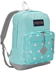 JanSport City Scout Backpack (Aqua Dash Spots)