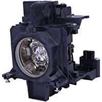 AuraBeam Professional Replacement Projector Lamp for Panasonic ET-SLMP137 With Housing (Powered by Ushio)