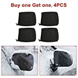 Automotive : 4PCS Mirror Covers, Universal Snowproof Waterproof Car Snow Covers, for Ice and Snow, Winter, Outdoor, Outside, Fit Car, SUV, CRV, Pickup, Truck, Vehicle, Automotives