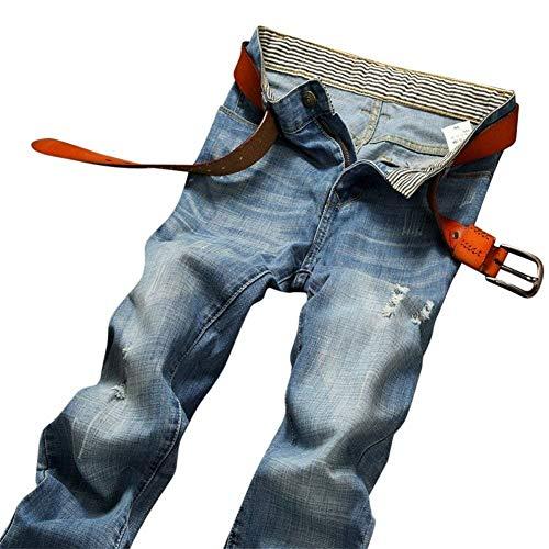 Cher Hombre Pants Old Hombre Jeans Basic Trabajo Simple Nne Denim De Trousers Holes Hombre Jeans ADELINA Denim Stil1 Hombre Ropa Pantalones T85zwPq4