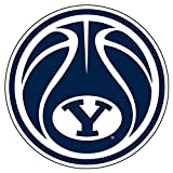 BYU Cougars Decal BASKETBALL Y DECAL 4'