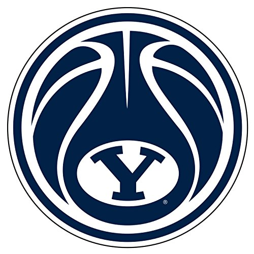 BYU Cougars Decal BASKETBALL Y DECAL 4