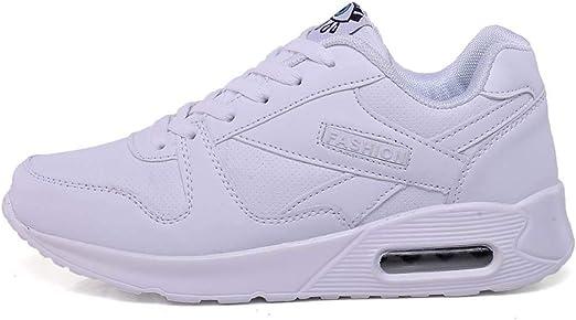 SHOES-HY Zapatos Casuales para Mujer Zapatillas de Tenis para Caminar sin Cordones Ligero Gimnasio Jogging Sports Athletic Running Sneakers,c,42: Amazon.es: Jardín