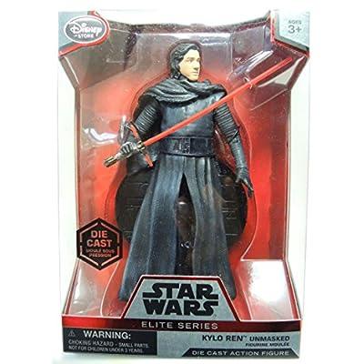 Star Wars 6 Elite Series Die-Cast Figure Kylo Ren Unmasked (Episode VII: A Force Awakens): Toys & Games