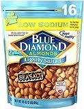 Blue Diamond Almonds, Low Sodium Lightly Salted, 16