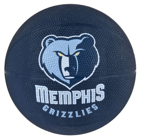Spalding NBA Memphis Grizzlies Mini Rubber ()