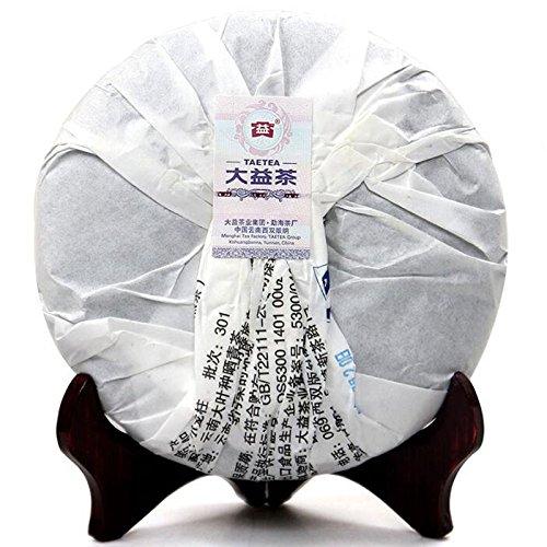 Lida 357g 2013yr Menghai Da Yi Long Zhu Ripe Puer Tea Cake Dayi Shu Puerh Tea Cake