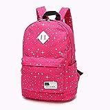Backpack Purse,3 Pieces Canvas Laptop Backpack Daypack Teens Bookbag Set Shoulder Bag Pencil Pouch Purse Student Book Bag Pen Case Shoulder Bag Teen Girls