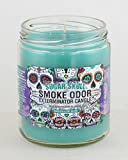 Smoke Odor Exterminator 13oz Jar Candle, Sugar Skull