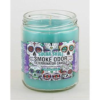 Amazon.com: Exterminator de olor de humo 13oz velas en ...