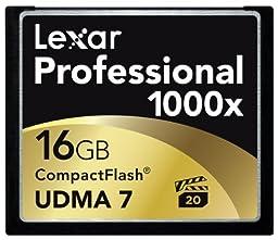 Lexar Professional 1000x 16GB CompactFlash Card LCF16GCTBNA1000
