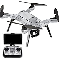 MightySkins Protective Vinyl Skin Decal for 3DR Solo Drone Quadcopter wrap cover sticker skins Gray Polygon