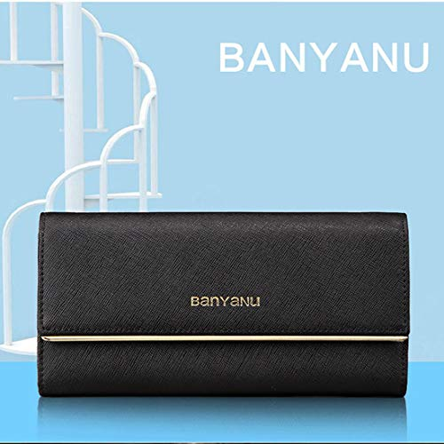 d850d63e2f91 レディース長財布 シンプル 多機能 カード収納 大容量 三つ折り かわいい 使いやすい スマホ