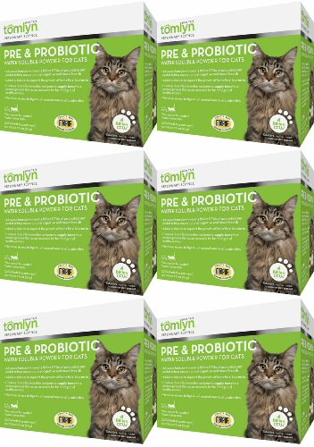 Tomlyn Pre & Probiotic Water Soluble Powder for Cats 180ct (6 x 30ct)