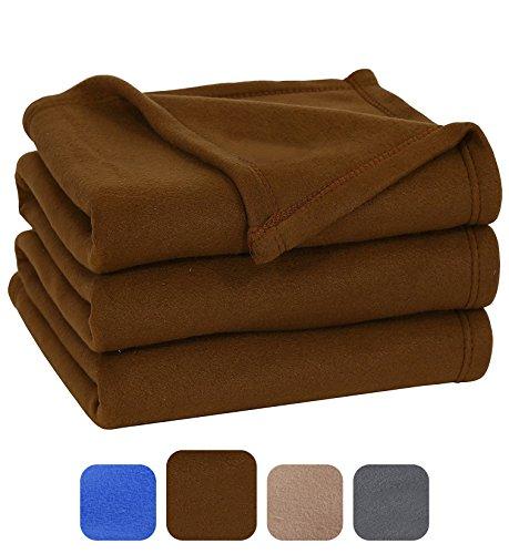 Polar Fleece Blanket  - Extra Soft Brush Fabric, Super Warm