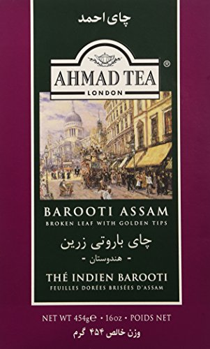 Ahmad Tea Barooti Assam Tea Loose Leaf, 16 Ounce