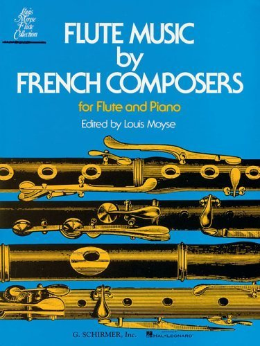 Flute Music French Composers - Flute Music by French Composers for Flute and Piano (2002-07-01)