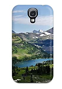 Hot GcApuDy4349BGkni Glacier National Park Tpu Case Cover Compatible With Galaxy S4
