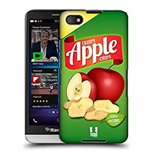 Head Case Designs Apple Chips Snacks Protective Snap-on Hard Back Case Cover for BlackBerry Z30