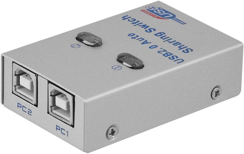 ASHATA USB 2.0 Interruptor de Intercambio Automático/Manual ...