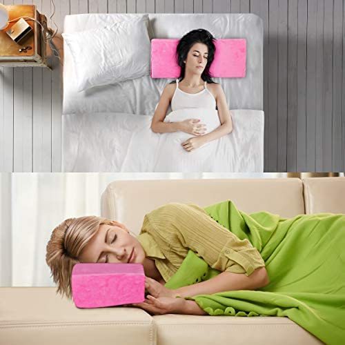 Camidy Memory Foam Kissen U-Form Professionelle Wimpernverlängerung Kissen Beauty Salon Kissen Nackenstütze für Wimpernverlängerung