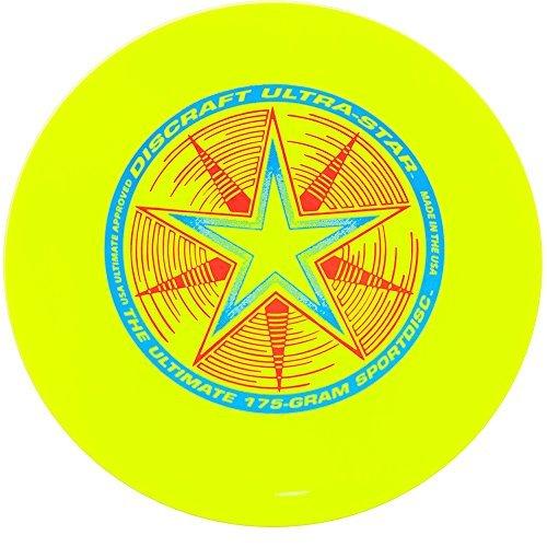 Discraft 175 g Discraft Ultrastar Frisbee (Yellow) by Discraft