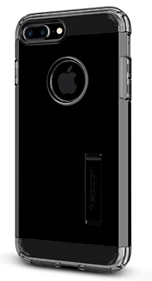 Spigen Funda iPhone 7 Plus, [Tough Armor] Heavy Duty [Jet Negro] Extreme Protection/Rugged but Slim Dual Layer Protective Funda Carcasa para iPhone 7 ...